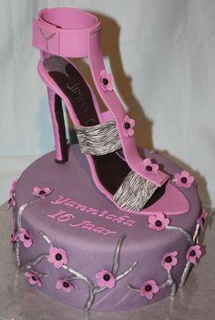 Jimmy Choo cake