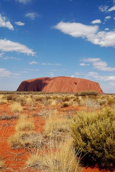 Uluru (Ayers Rock), Australia. Sacred to the Aboriginal people and listed as a UNESCO World Heritage Site.