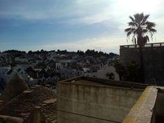 Tramonto ad Alberobello