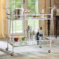 Cosmopolitan Bar Cart