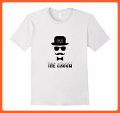Mens Mens Bachelor Party I'm The Groom T-Shirt XL White - Wedding shirts (*Partner-Link)