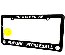 PICKLEBALL MARKETPLACE - License Plate Holder &  Pickleball Keychain - COMBO