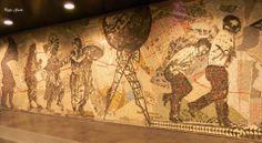 Metropolitana di Napoli. Stazione Toledo
