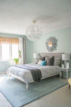 Цветные сны: секреты правильной покраски спальной комнаты