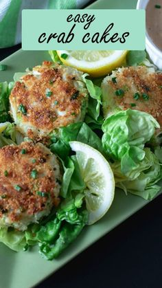 These ultra-delicious crab cakes from Binky's Culinary Carnival are so easy! They only take about 20 minutes! Serve them with Comeback Sauce, or your favorite seafood sauce! This may be a new favorite seafood dinner for a weeknight meal. #crabcakes #crab #Southernrecipes #easyrecipes #easy #recipes #seafood Bite Size Appetizers, Finger Food Appetizers, Easy Appetizer Recipes, Yummy Appetizers, Healthy Recipes, Easy Recipes, Seafood Mac And Cheese, Cake Calories, Comeback Sauce