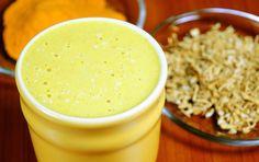 Hřejivé smoothie s ženšenem a kurkumou