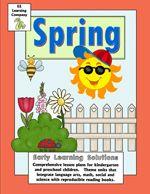 Spring Kindergarten and Preschool Activities
