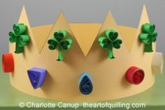 St. Patrick's Day Quilling with Kids | theartofquilling.com