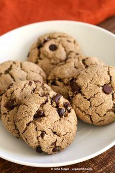 GF Vegan Soy Free Yeast free Chocolate Chip Cookies - Vegan Richa