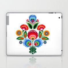 traditional polish folk art Laptop & iPad Skin by bachullus  - $25.00