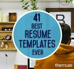 There are some great templates here, but keep in mind that if you email or upload your resume, it might not look the same when it's received.