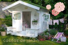 En casa de Tía Gretel: Casitas para jugar en el jardín (y lista sorteo)