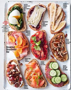 Tartine ideas