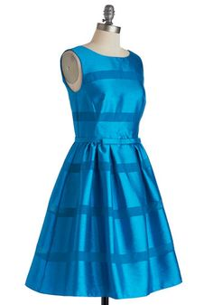 Dinner Party Darling Dress in Azure, #ModCloth