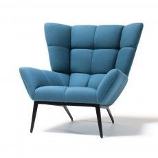 Shop SUITE NY for the Tuulla Armchair designed by Jeff Vioski for VIOSKI Furniture in and other modern upholstered wing chairs. Deco Furniture, Upholstered Furniture, Furniture Design, Single Sofa Chair, Muebles Living, Lounge Seating, Mid Century Furniture, Contemporary Furniture, Chair Design