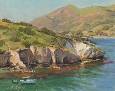 Joseph Paquet | Catalina Wildside Exhibition Paintings