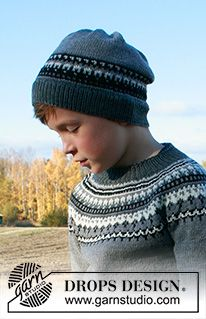 Children - Free knitting patterns and crochet patterns by DROPS Design Crochet Jumper, Crochet Cardigan Pattern, Sweater Knitting Patterns, Free Knitting, Baby Knitting, Knit Crochet, Crochet Patterns, Drops Design, Crochet Hats For Boys