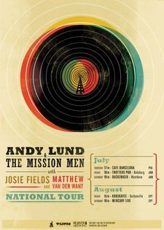 Andy Lund poster  http://www.smashingmagazine.com/2008/10/26/retro-and-vintage-typography-showcase/