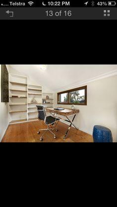 Desk for loft area