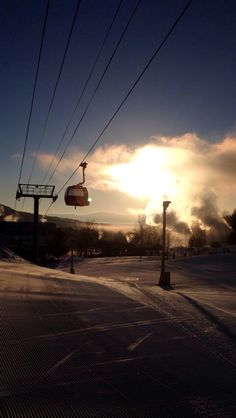 Mornings at Stowe be there before the lift opens