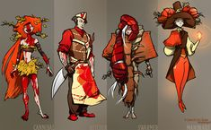 Fall classes - various 3 by *ming85 on deviantART