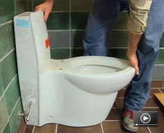 Many puns have been applied to toilet replacement and installation, but in reality replacing or installing a toilet is a pretty simple home improvement project for a do-it-yourselfer.