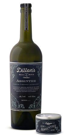 Dillon's Absinthe  Packaging design