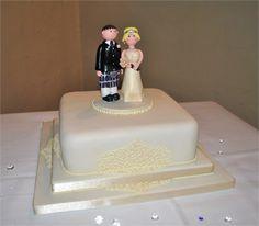 Scottish wedding cake.