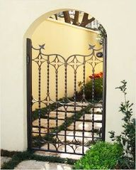 Image detail for -Fence Gates, Wrought Iron Fences, Wrought Iron Gates, Decorative Gates ...