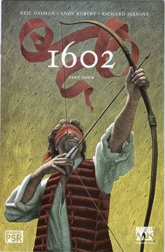MARVEL 1602 PART FOUR JAN 2004 Scott McKowen Cvr Neil Gaiman Andy Kubert