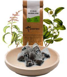 Os presentamos nuestra nueva infusión en pirámide de Té Rojo y Hierbaluisa. Una combinación con un sabor cítrico muy agradable y que además reúne propiedades digestivas, relajantes, desintoxicantes y adelgazantes.