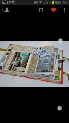 Scrapbook adventure book creative art diy easy diy pictures something to do in the summer to keep memories in or just for fun! @jordangalbraith