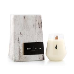 Love the shape of these candles! Black arrow candles #handmade