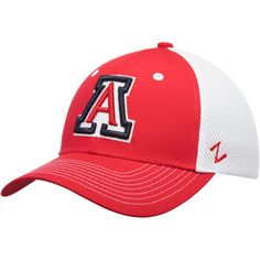 new products bebc4 c32ad ... wholesale mens zephyr red arizona wildcats relax flex hat 87603 db4eb