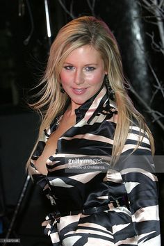 Abi Titmuss during TV Moments 2004 Awards - Outside Arrivals at BBC Television Centre in London, Great Britain.