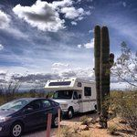 """Gilbert Ray – Tucson, AZ """"If you want a quiet, relaxing place for biking, hiking and getting away from things, you've found it."""""""