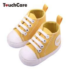 Di modo Pattini Infantili Del Bambino Appena Nato Baby Girl Boy Sport Sneakers Morbido Fondo antiscivolo T-legato Primi Camminatori Prewalker