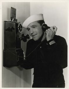 Gene Kelly on the phone.