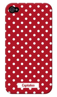 Has THE cutest phone cases! I have got to get an iphone to try out all these cute cases Cute Cases, Cute Phone Cases, Iphone Cases, Iphone 3, White Iphone, Red Dots, Polka Dots, My Favorite Color, My Favorite Things