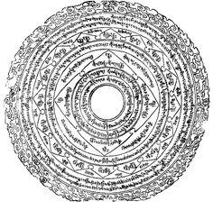 Wrathful Padmasambhava amulet