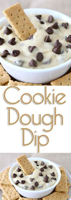 This cookie dough dip will easily become one of the most requested sweet treat recipes you serve.