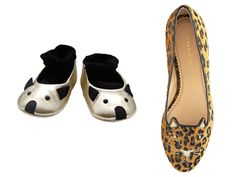 Cat Flats for Momma and Mouse Flats for Baby