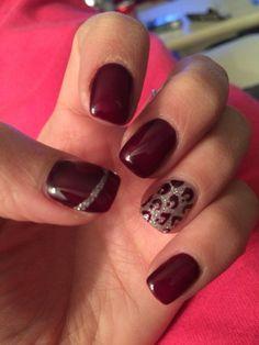 Manucure gel UV prune & léopard... - My blog dezdemon-nail-artdesign.top
