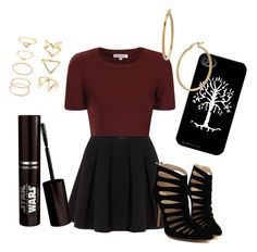 """Christmas option"" by cstp on Polyvore featuring Glamorous, Polo Ralph Lauren, Bony Levy and Forever 21"