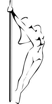 Dancer, Pole Dance, Woman, Sexy