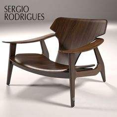 Poltrona Design, Furniture Decor, Furniture Design, Muebles Art Deco, Plywood Chair, Leather Recliner Chair, Hotel Lounge, 3d Models, Swinging Chair