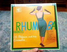 RHUMBA FAVORITES Vinyl LP by Al Stefano and His Orchestra 1963 Stereo 14049 #Rumba
