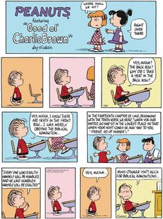 Everyone who exalts himself will be humbled according to Peanuts | Christian Funny Pictures - A time to laugh