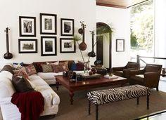 Interior Design by Martyn Lawrence Bullard for Kid Rock Residence