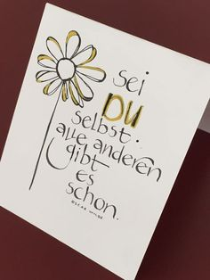 Kalligraphie und alles was sich beschriften lässt Calligraphy and everything that can be labeled Diy Cards Design, Brush Lettering, Hand Lettering, Journaling, Label Design, True Words, Friendship Quotes, Decir No, Quotations